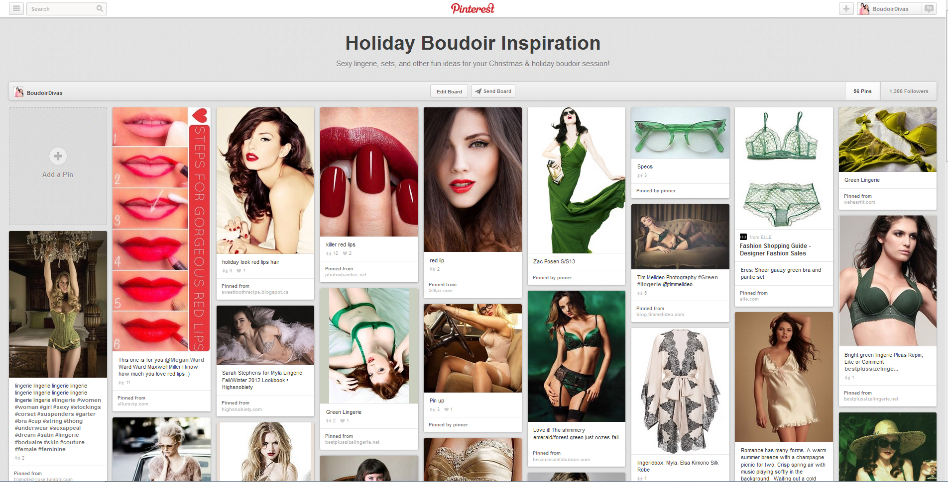 holidayboudoir Happy Holidays from Boudoir International!