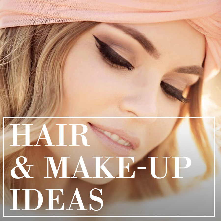 boudoir hair and make-up tips
